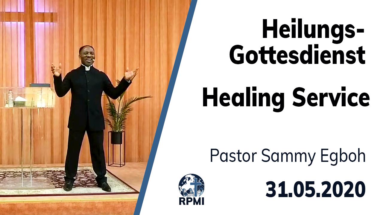 Livestream RPMI Healing Service Youtube