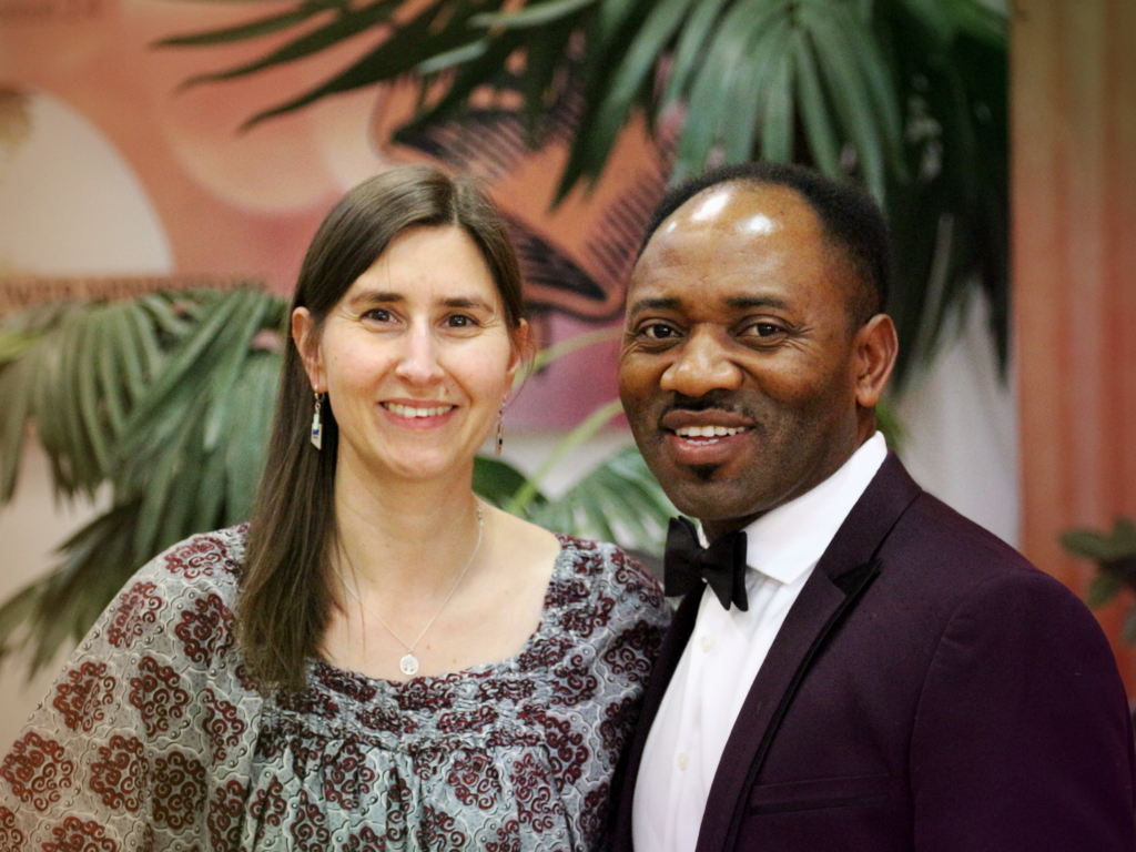 Pastor Sammy Egboh and Damaris Egboh