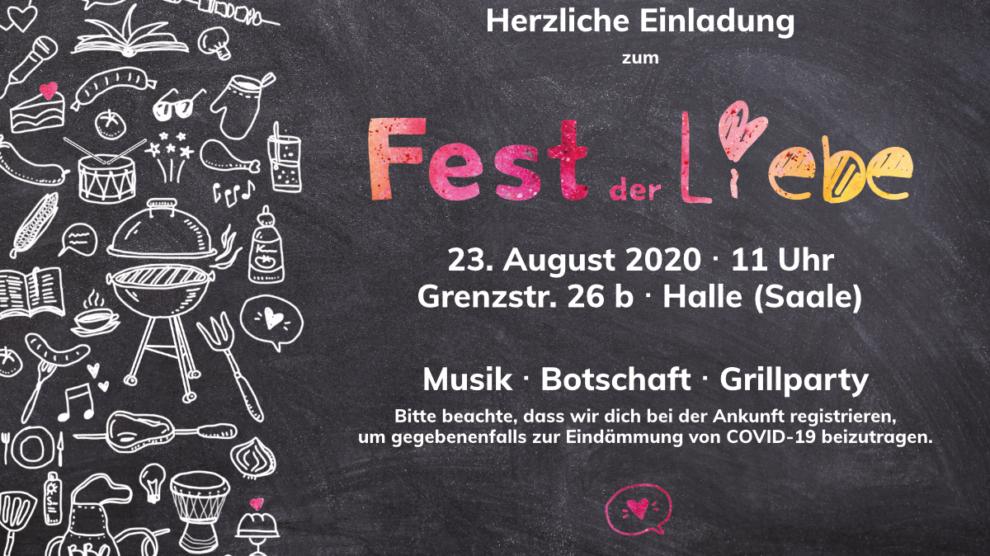 Fest der Liebe 2020 Flyer