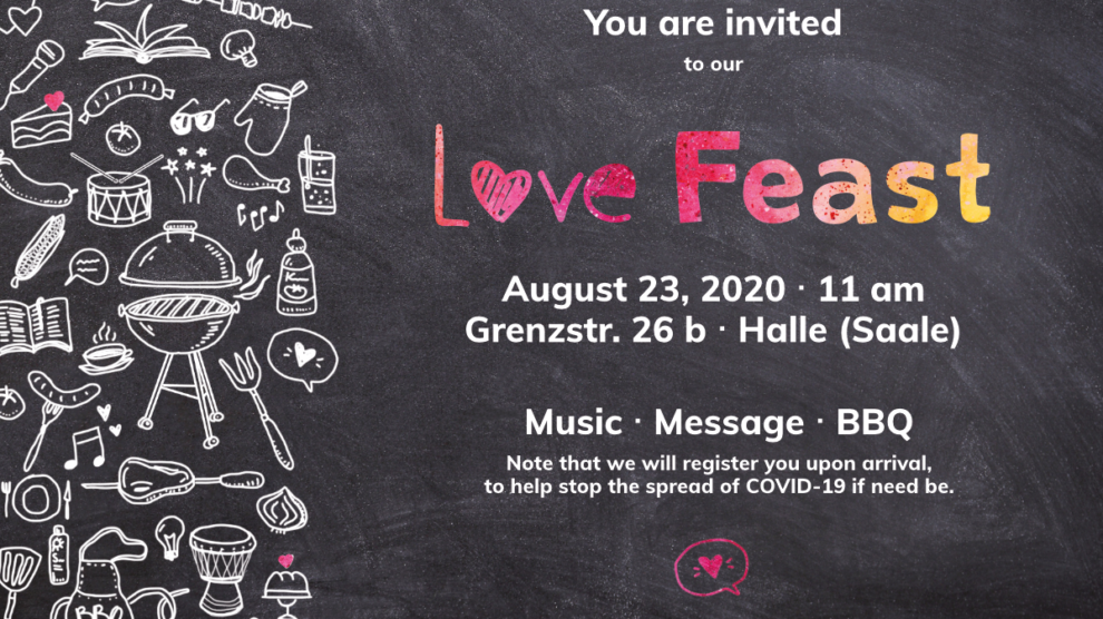 Love Feast 2020 Flyer