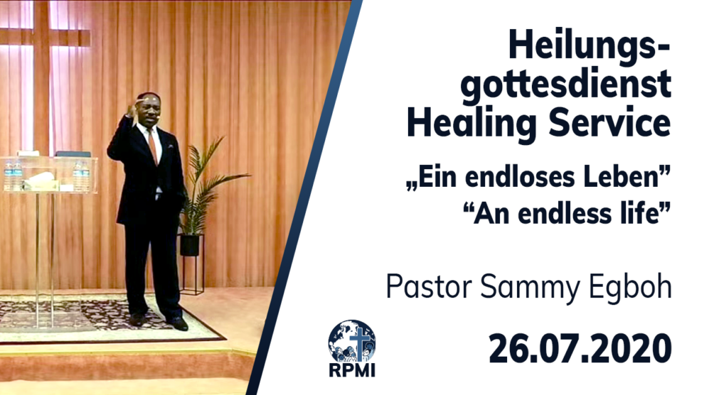 An endless life Pastor Sammy Egboh