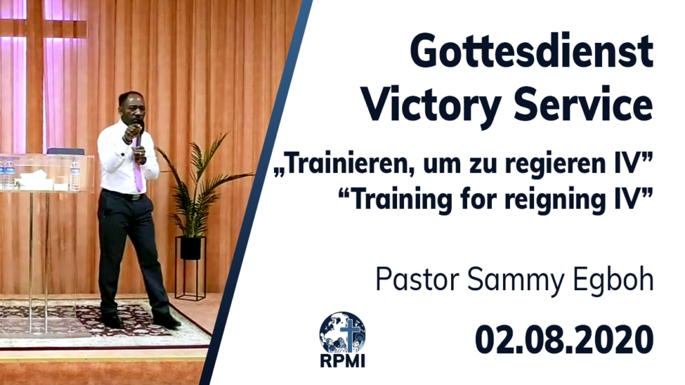 Training for reigning Part 4 Pastor Sammy Egboh