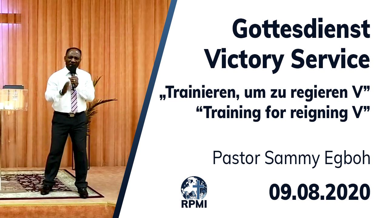Training for reigning Part 5 Pastor Sammy Egboh