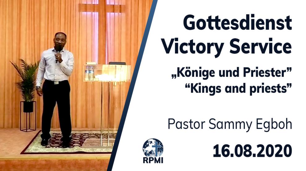 Könige und Priester Pastor Sammy Egboh