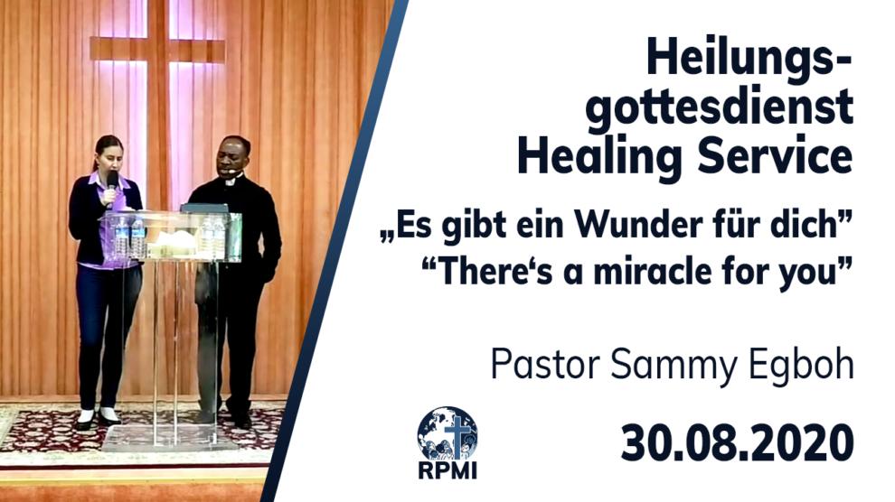Wunder für dich Pastor Sammy Egboh