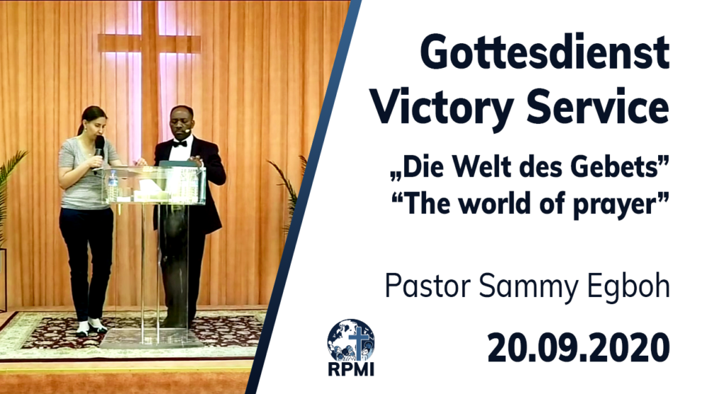 World of Prayer Pastor Sammy Egboh