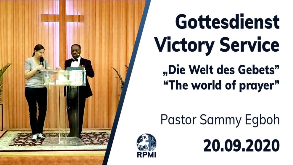 Welt des Gebets Pastor Sammy Egboh
