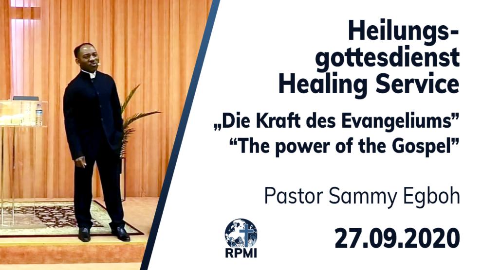 Kraft des Evangeliums Pastor Sammy Egboh