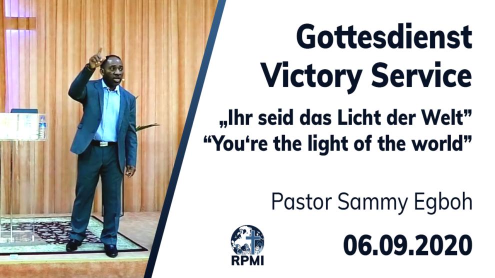 Licht dieser Welt Pastor Sammy Egboh