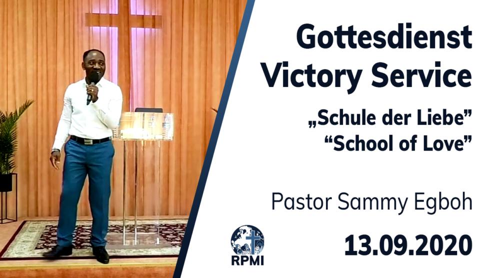 Schule der Liebe Pastor Sammy Egboh
