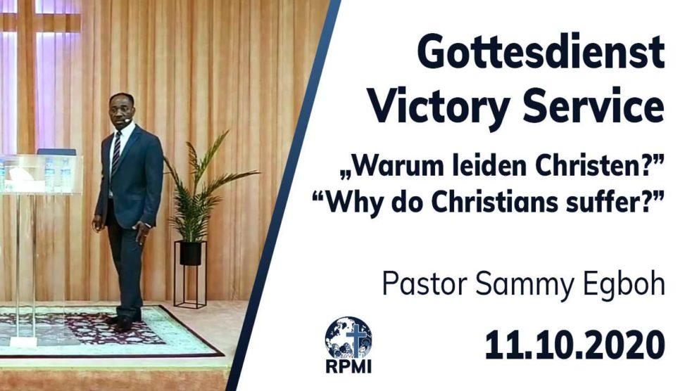 Warum leiden Christen_Pastor Sammy Egboh