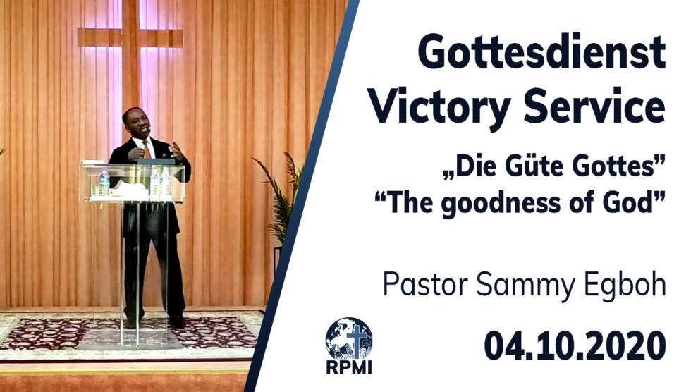 Güte Gottes Pastor Sammy Egboh