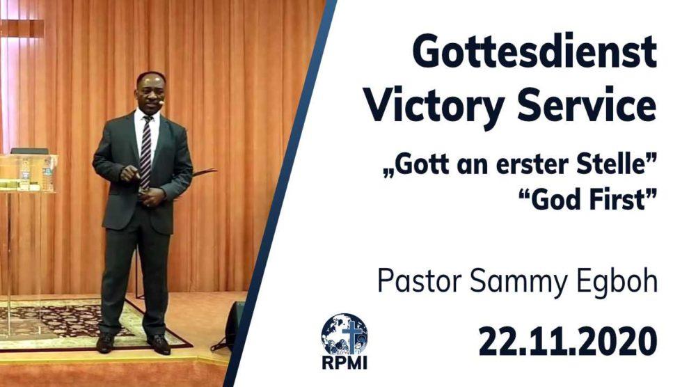 2020-11-22 God First