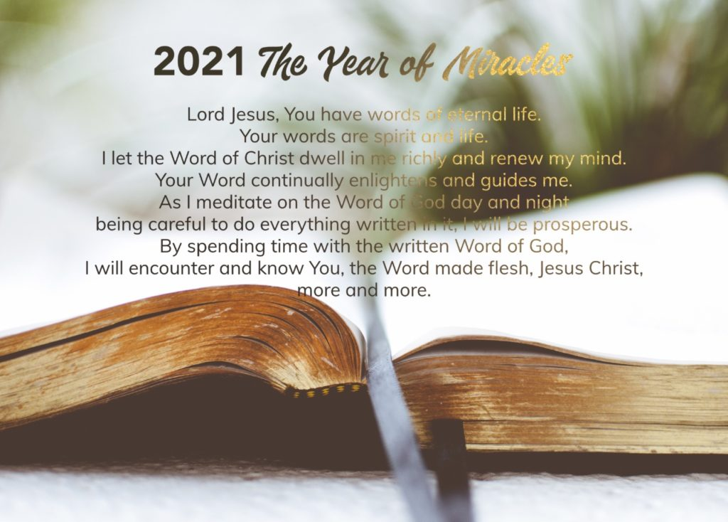 2021 Bible Reading Plan