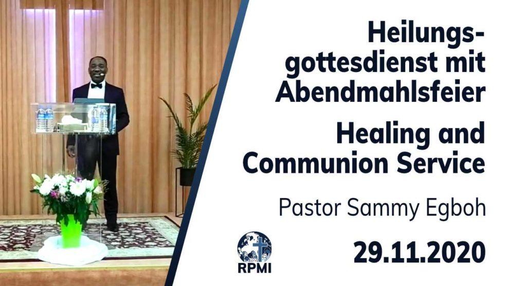 Heilungsgottesdienst 2020-11-29