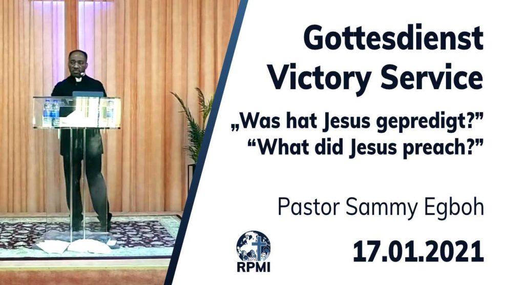 Was hat Jesus gepredigt - 2021-01-17