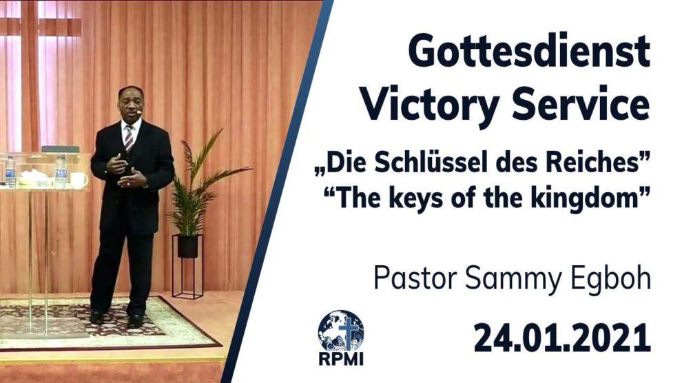 Schlüssel des Reiches 2021-01-24