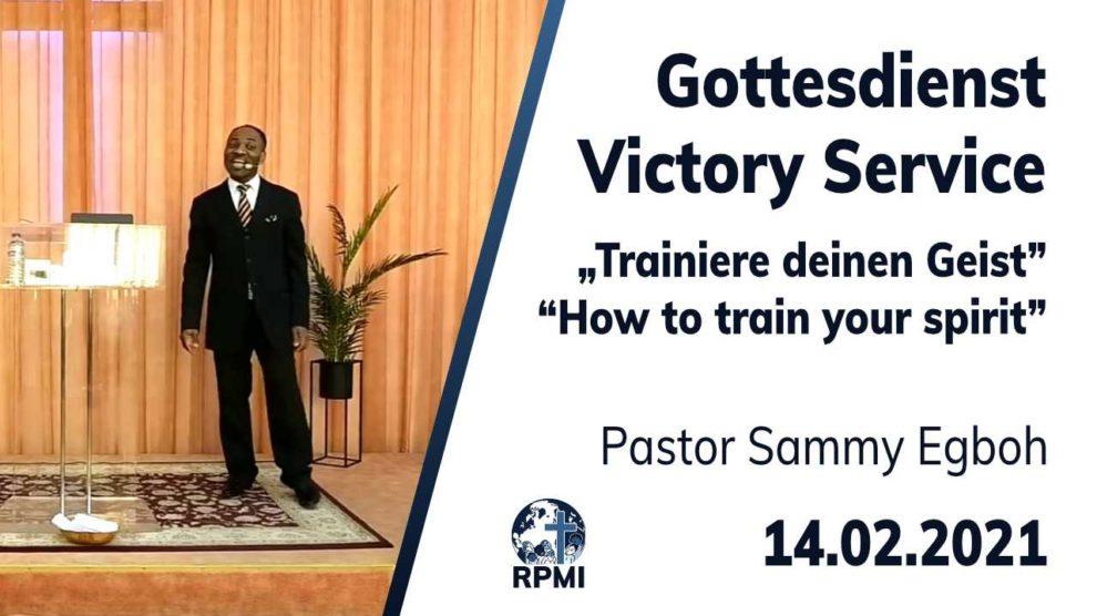 2021-02-14 Geist trainieren