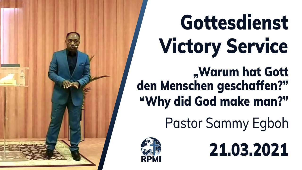 2021-03-21 Warum schuf Gott den Menschen