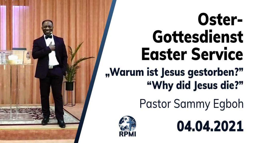 2021-04-04 Warum ist Jesus gestorben