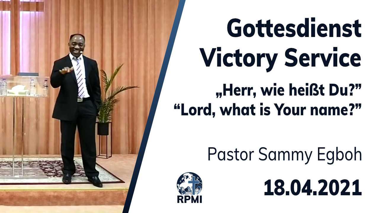 2021-04-18 Gottes Name