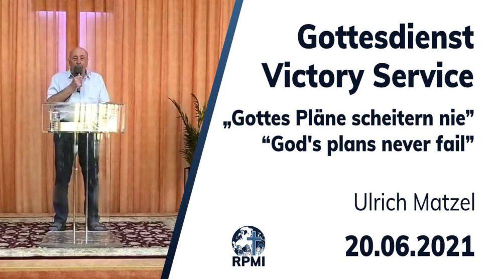 2021-06-24 Gottes Pläne