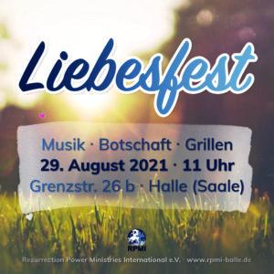 Liebesfest 2021 Veranstaltungs-Info